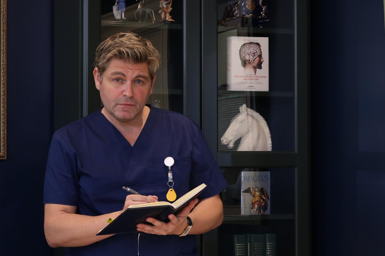 Д-р Стефан Комитски, ДМ
